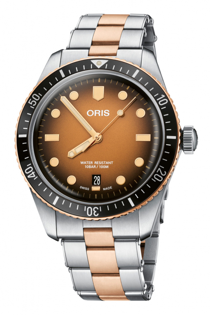 "Oris Divers Sixty-Five ""Sunset over the beach"""